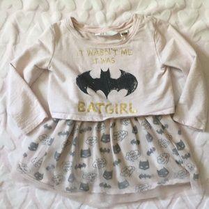 Bat Girl sweatshirt dress